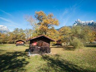 Chalet cosy et rustique 3p, près du Mont-Blanc-Plage
