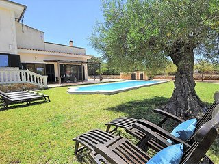 NA BUBOTA. Rustic Finca in Algaida  with private pool Eco-friendly. BBQ. - Free