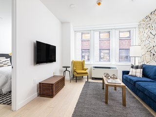 Distinct 1BR at Wall Street Floor #7 by Sonder