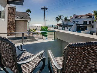 Modern Carlsbad Rental with Ocean View Patio!