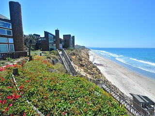Solana Beach Condo- Private Community Stairs to the Beach!