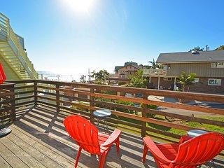 Encinitas Beach House Rental at Moonlight Beach - Ocean View!