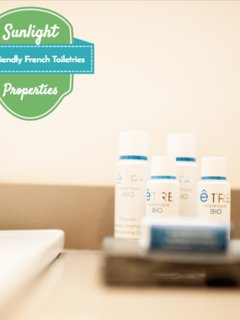 Eco friendly French toiletries