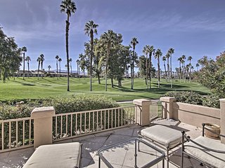 NEW! Palm Desert Townhome w/Golf Course & Mtn View