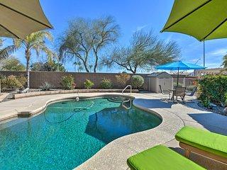 Gorgeous Goodyear Home w/Pool, Hot Tub, Air Hockey