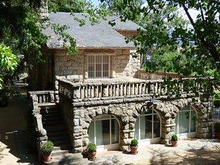 Preciosa casa en finca en la sierra.