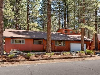 Fun Family Cabin Close to Heavenly w/Horseshoes and Large Backyard!