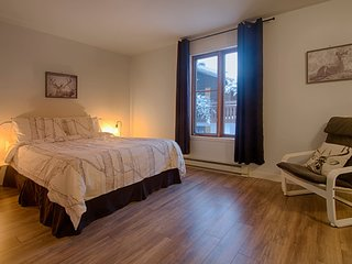 Cozy 1 bedroom nest at Mont-Ste-Anne