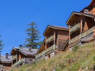 Charmant + Joli Chalet 9p, terrasse/balcon privé, près des pistes