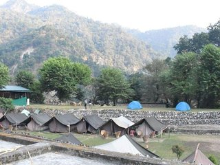 Scenic Beauty Nature Tent near by Ganga River