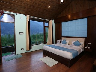 Beautiful Mountain View 2 Bedroom Villa in Manali