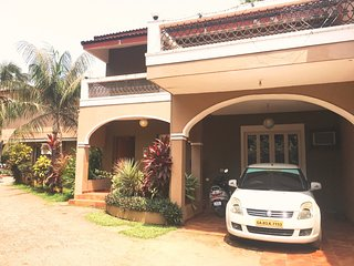 Well Furnished 3 Bedroom Villa In Candolim Beach