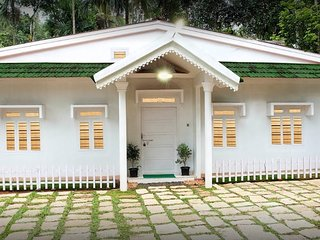 Amazing White Holiday Home in Wayanad