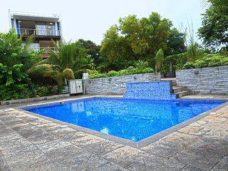 Sea Facing Luxury 4 BHK Villa with Common Swimming Pool