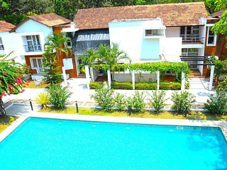 3 Bedroom Villa with Swimming Pool near Candolim Beach