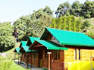 Super Deluxe Wooden Cottage in Nainital