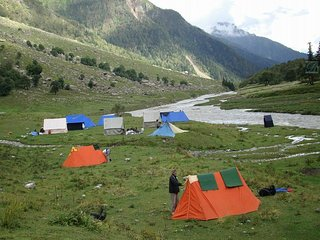 Beautiful Tourist Attraction Camp in Kasol