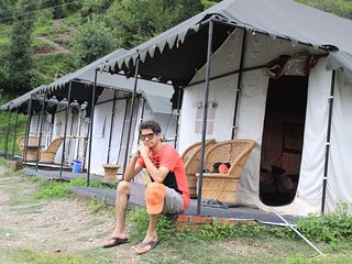 A Beautiful Luxury Camp In Nainital