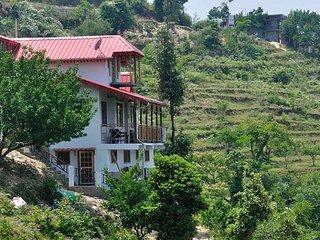 Superb Wooden Cottage In Mukteshwar