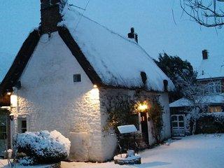 Idyllic thatched cottage near Oxford