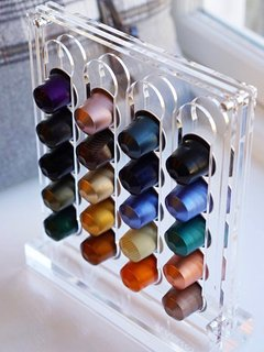 We provide a selection of Nespresso pods for you to enjoy :)