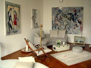Berlin, Künstlerwohnung mit Charme, ruhig, central, wunderschön, 100qm