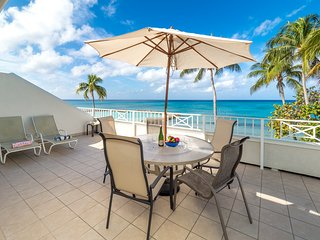 My favorite - the large patio and ocean views!