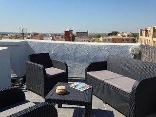 Duplex avec toit terrasse en centre ville