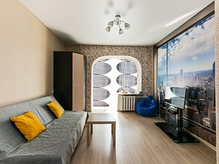 GorodM Cozy studio in Moscow centre with panoramic view
