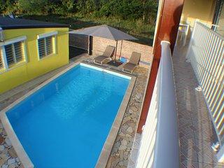 Appartement avec piscine (2 personnes)