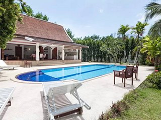 Stunning villa in traditional Thai architecture with private pool & huge garden