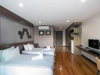 Studio Apartment 500M. to Villa Market at Bangtao