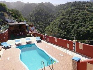 Tkasita Galicia, Piscina y Vistas. Ideal Familias, Grupos. La Palma, Canarias
