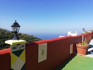 Tkasita Galicia 2. Piscina, Vistas al Mar y Montañas. La Palma, Islas Canarias