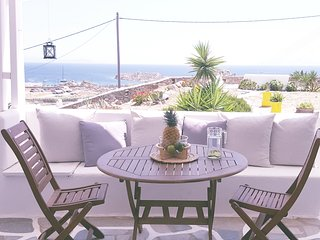 3 bdrm Sea View Residence Paraga and Scorpios ( Mykonos )
