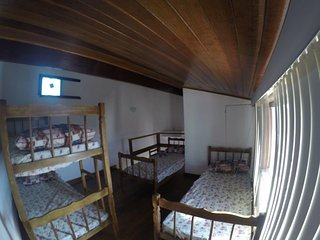 Suites Areia Branca - Quadruple Room with Private Bathroom