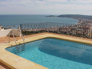 BBC's chosen Javea villa. 'Possibly the finest view in Spain?' Visited by Trip A