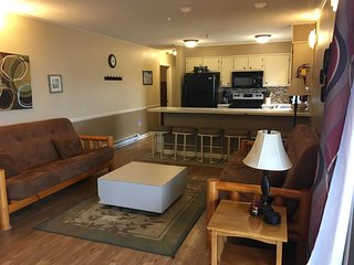 Winterplace Ski-In Ski-Out Condo near Beckley, WV; with Large Deck and views