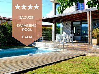 ☀️ RARE Villa with swimming pool and jacuzzi, 10 min from the beaches ☀️