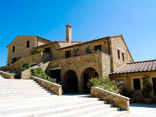 10 bedroom Villa in Rocca d'Orcia, Tuscany, Italy - 5762645