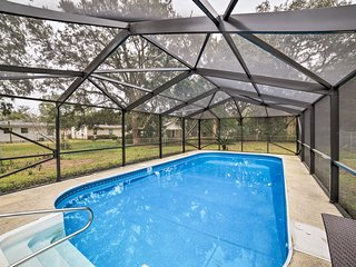 NEW! Pensacola Home w/Pool Lanai - 15 Mi. to Beach