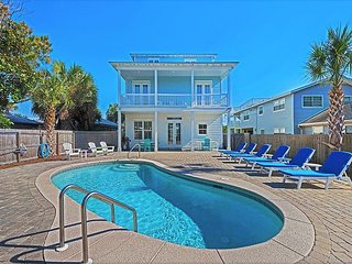 15%OFF Now-3/23/19! GULF VIEW~Luxury Home, Pool, Near Beach +FREE Bikes&Perks