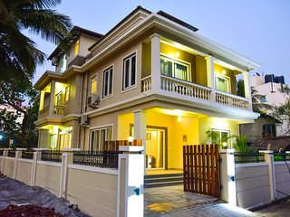 Celebration villa 6 bedrooms with private  pool near Baga Beach goa