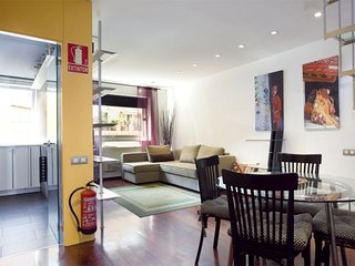 Portal del Angel III apartment in Barrio Gotico with WiFi, integrated air condit