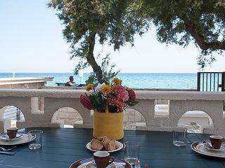 Villa con accesso diretto al mare, spiaggia m160