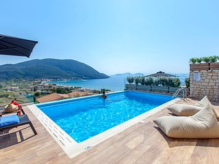 Villa Maria With Pool And Amazing Sea Views Perfect for a Family in Lefkada