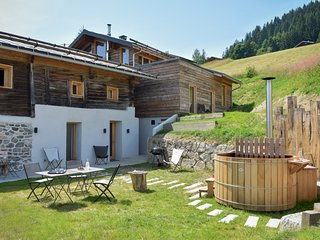 Grand chalet: eco-design, Mt Blanc & bain nordique (15 personnes)