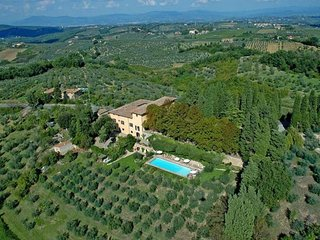 24 bedroom Villa in San Casciano in Val di Pesa, Tuscany, Italy - 5762631