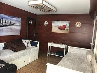 Magnifique appartement 'Marin', vue pleine mer et dunes / Les Becs Saint