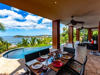 Casa Flamingo is perfect for spending time relaxing with ocean views